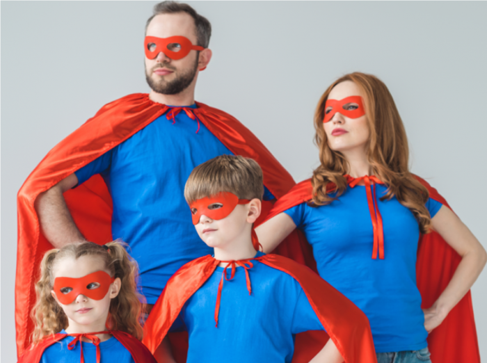 Superheroes in the Home – Raising money for the NHS